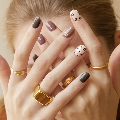 N Cozy Leopard nails (10/25 출고예정)
